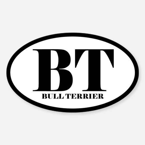 BT Abbreviated Bull Terrier Decal