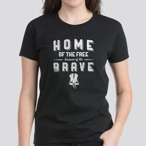 Home of the Free Blue Women's Classic T-Shirt