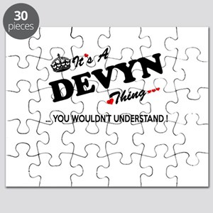 DEVYN thing, you wouldn't understand Puzzle