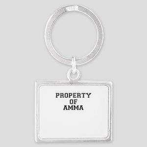 Property of AMMA Keychains