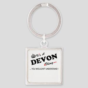 DEVON thing, you wouldn't understand Keychains