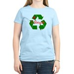 I Recycle Women's Light T-Shirt