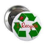 "I Recycle 2.25"" Button (100 pack)"