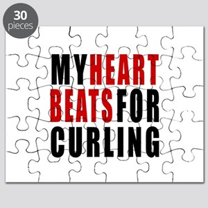 My Hear Beats For Curling Puzzle