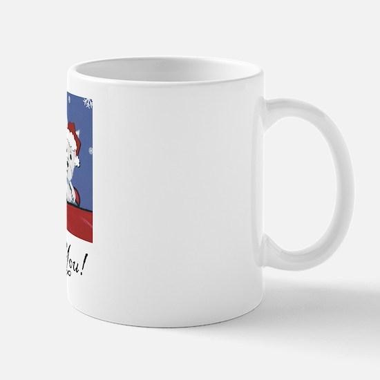 Merry Christmas Westies Mug