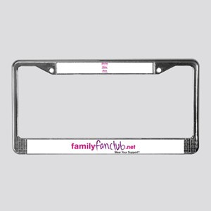 Triathlon Mommy License Plate Frame