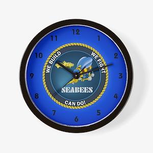 seabee clocks Wall Clock