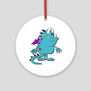 Soap Bubble Monster Keepsake (Round)