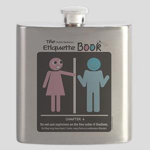 Door Peeps Line Cutter Flask