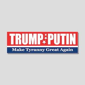 Trump Putin 2016 Car Magnet 10 x 3