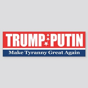Trump Putin 2016 Bumper Sticker