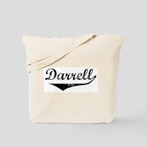Darrell Vintage (Black) Tote Bag