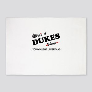 DUKES thing, you wouldn't understan 5'x7'Area Rug