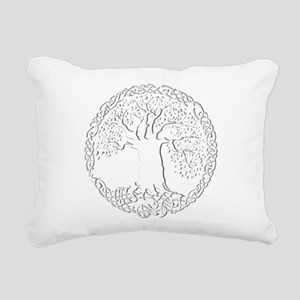 Celtic Tree of Life Rectangular Canvas Pillow