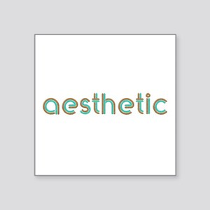"Aesthetic Square Sticker 3"" x 3"""