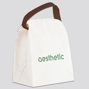 Aesthetic Canvas Lunch Bag