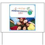 Children First Logo Yard Sign