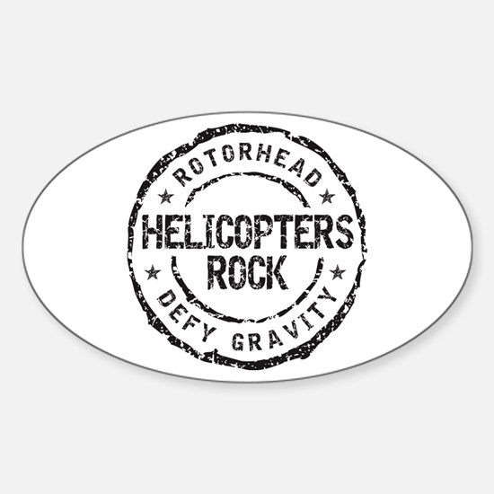 Rotorhead 2B Oval Decal
