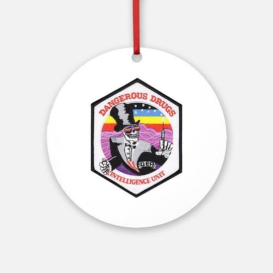 DEA Intelligence Ornament (Round)