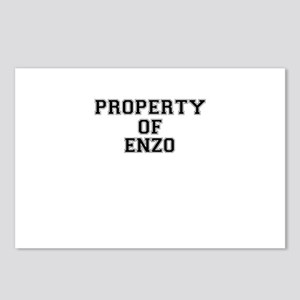 Property of ENZO Postcards (Package of 8)
