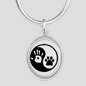 Yin Yang Hand Paw Necklaces