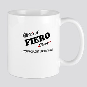 FIERO thing, you wouldn't understand Mugs