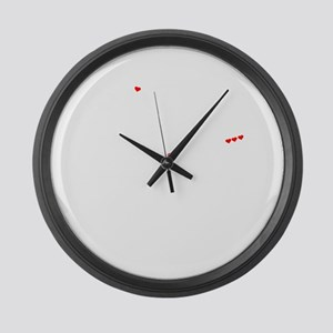 CAMERO thing, you wouldn't unders Large Wall Clock