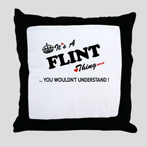 FLINT thing, you wouldn't understand Throw Pillow