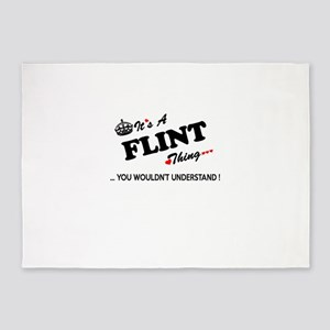 FLINT thing, you wouldn't understan 5'x7'Area Rug