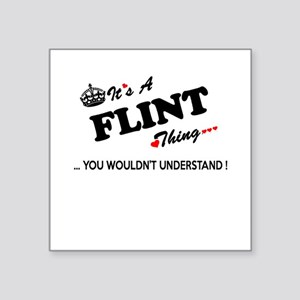FLINT thing, you wouldn't understand Sticker