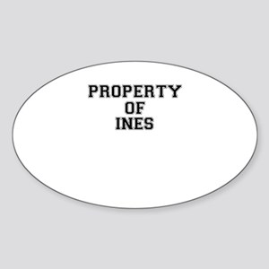 Property of INES Sticker