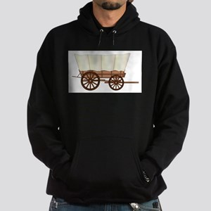 Covered Wagon Wheel Hoodie (dark)