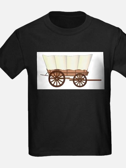 Covered Wagon Wheel T-Shirt
