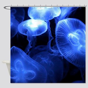 Jumbo Jellyfish Shower Curtain
