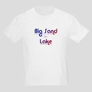 Big Sand Lake Kids Light T-Shirt