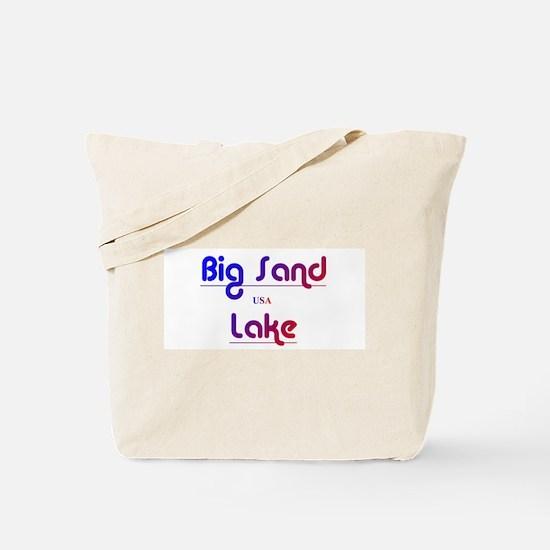 Big Sand Lake Tote Bag