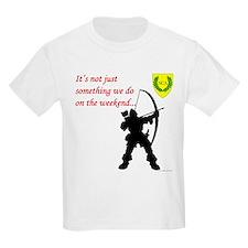 Not Just Archery Kids Light T-Shirt
