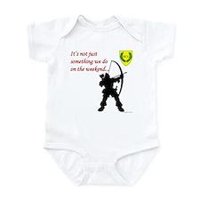 Not Just Archery Infant Bodysuit
