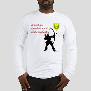 Not Just Archery Long Sleeve T-Shirt
