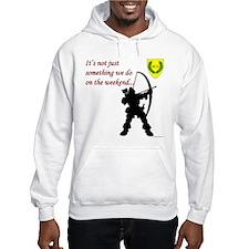 Not Just Archery Hooded Sweatshirt