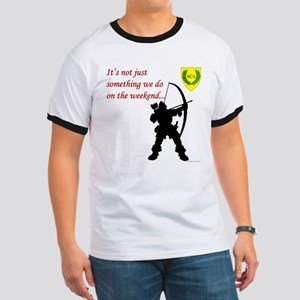 Not Just Archery Ringer T