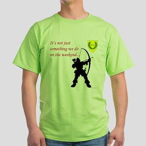 Not Just Archery Green T-Shirt