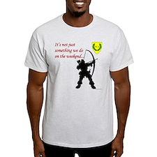 Not Just Archery Light T-Shirt