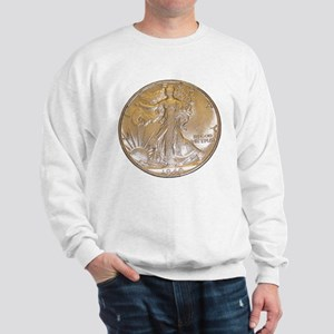 Walking Liberty Half Dollar Sweatshirt