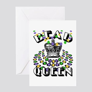 Bead Queen Greeting Card