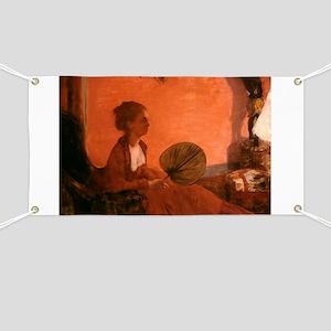 Madame Camus by Edgar Degas Banner