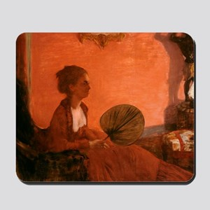 Madame Camus by Edgar Degas Mousepad