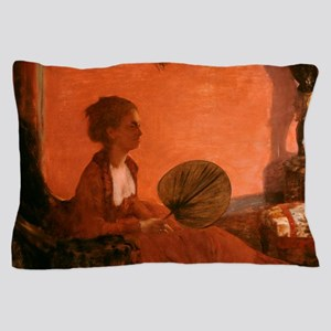 Madame Camus by Edgar Degas Pillow Case