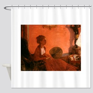 Madame Camus by Edgar Degas Shower Curtain