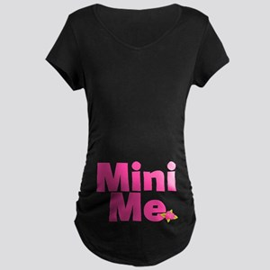 Mini Me In My Tummy Maternity Dark T-Shirt